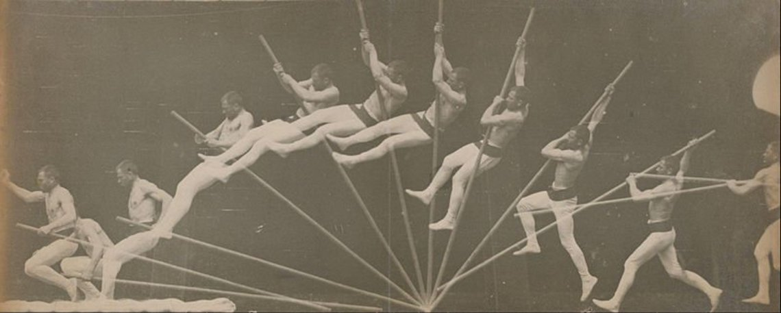 Xl  tienne jules marey   movements in pole vaulting   google art project